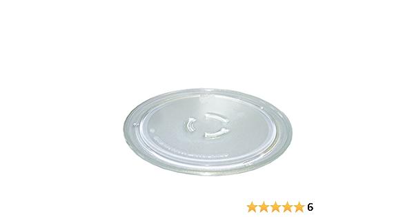 Glas-Drehteller 36cmØ für Mikrowellen-Geräte Bauknecht,IKEA,Kitchenaid,Whirlpool