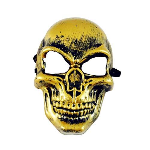 Huhu833 Halloween Maske, Halloween Horror Grimasse Nacht Terror Maske Kostümfest Requisiten (A)
