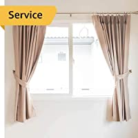Curtain Cleaning - 2 Curtains - Medium, up to 13 Sqm