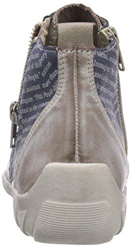 Remonte DorndorfR3470 - Sneaker alta Donna Mehrfarbig (loam/steel/denim/elefant 42)