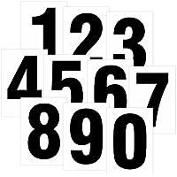 schwarz Ziffern Zahl 100 Klebezahlen wetterfest 19 cm 190mm