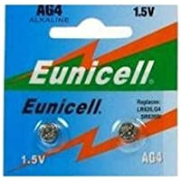 Shipping with Tracking–Pack of 2x Eunicell AG4/LR626/377/SR626606Watch