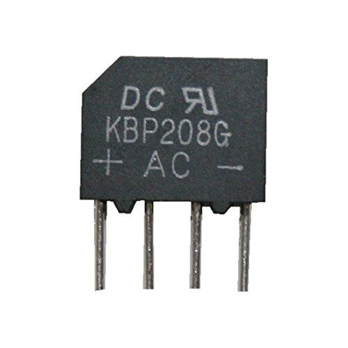 Brückengleichrichter Gleichrichter KBP208G 800V 2A (0016) (2a Brückengleichrichter)