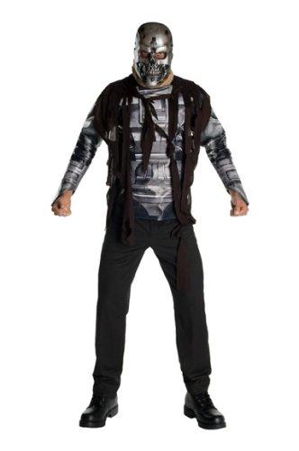 Terminator - Salvation - T-600 - cooles Erwachsenen Kostüm mit Maske - Gr. 44 Jacketgröße
