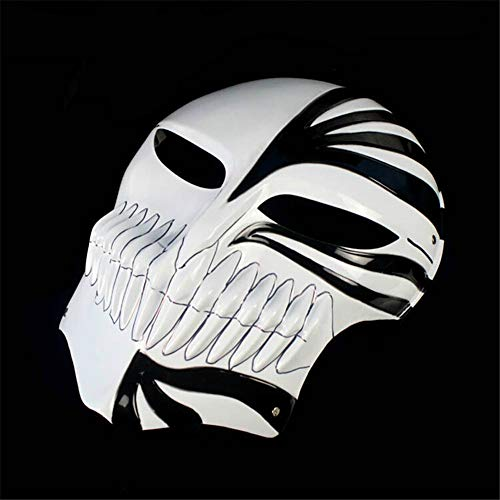 ILYMJ Film und TV-Thema Anime Cartoon-Maske, Code, schwarz -