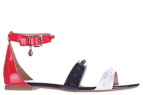 Armani Jeans sandali donna in pelle originale nero EU 37 C5749 18 4Q