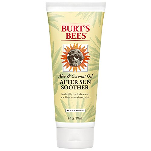 Burt's Bees Aloe & Linden Flower After Sun Soother, 6 Ounce by Burt's Bees