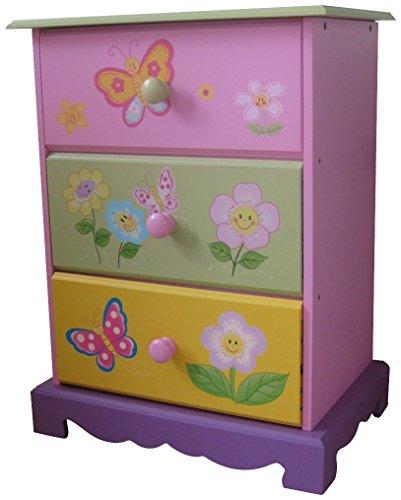 Liberty Möbel Kommode (LibertyHouseToys Butterfly Garden mit 3Schubladen Aufbewahrung)