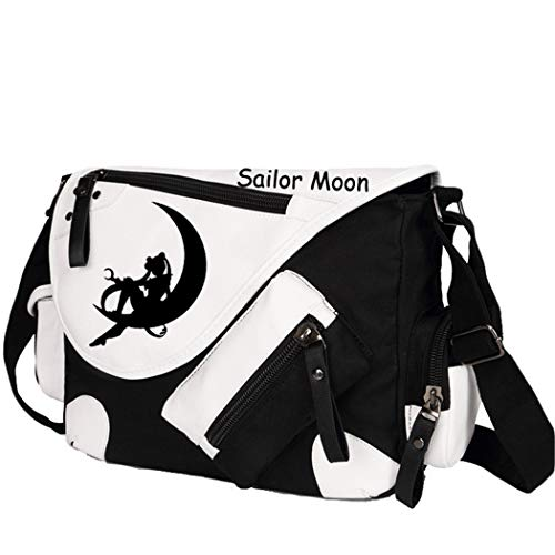 YOYOSHome Anime Sailor Moon Cosplay Messenger Bag Handtasche Crossbody Rucksack Schultasche Schultertasche