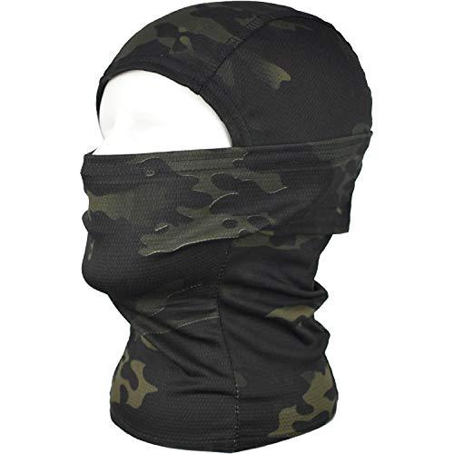 QMFIVE Pasamontañas Máscara Camuflage Cara Completa
