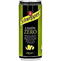 Schweppes Limón Zero Bebida Refrescante - 330 ml