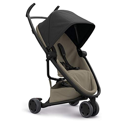Quinny Zapp Flex Lightweight City Stroller, Compact Folding, Two-Way Seat, 6 Months to 3.5 Years, Black on Sand  Dorel UK Limited