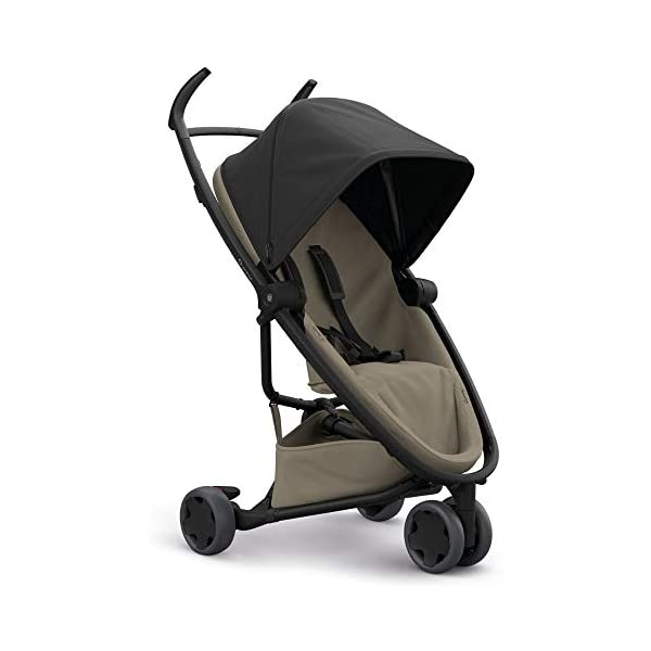 Quinny Zapp Flex Lightweight City Stroller, Compact Folding, Two-Way Seat, 6 Months to 3.5 Years, Black on Sand Quinny  1