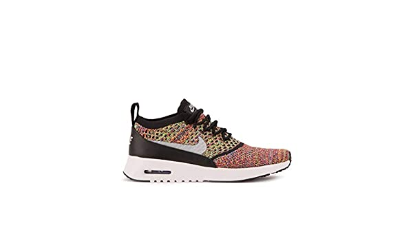 Nike Air Max Thea Ultra Fk Baskets basses à lacets pour femme Multicolor (Bright CrimsonWolf GreyBlackWhite), 37.5 EU