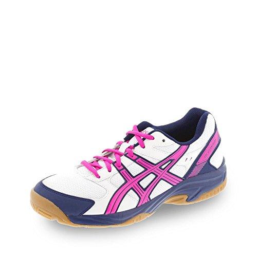 ASICS Damen Volleyballschuhe weiß/pink/blau