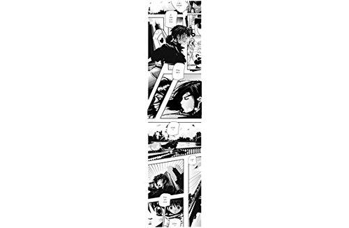 Scenolia Lé de Papier Peint Chambre d'enfant Mangas Bande dessinée en Noir et Blanc - 60 x 240 cm Papier intissé