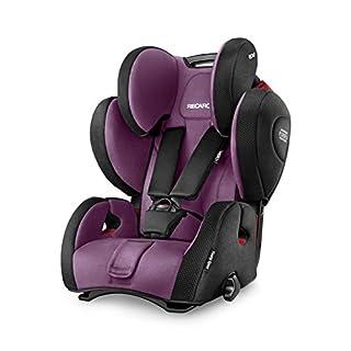 RECARO Young Sport Hero Car Seat ( Group 1/2/3, Violet)