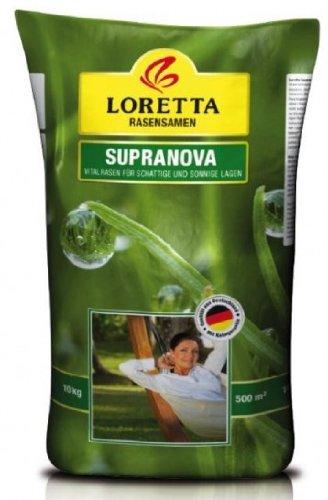 Loretta Supranova Vitalrasen 10kg (500m²) [GP: 20,-EUR/kg]