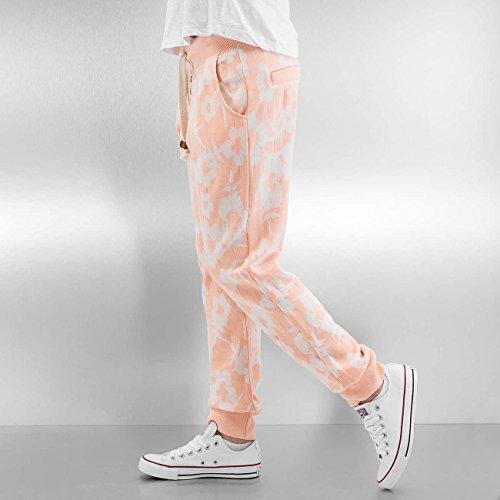 Sublevel Donna Pantaloni / Pantalone ginnico Flowers arancio