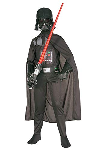 Karnestore Star Wars Darth Vader Outfit Halloween Kinder Jungen Cosplay Kostüm + ()