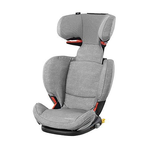 Bébé Confort Rodifix Airprotect 'nomad grey' - Silla de auto para niño con Isofix, R44/04, reclinable, Segura y ligera, desde...