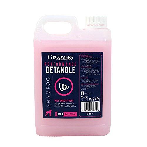 Groomers Detangle Shampoo für Haustiere entwirrend 2,5 Liter (Groomers Shampoo Hund)