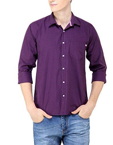 GHPC Men's 100% Cotton Casual Shirt