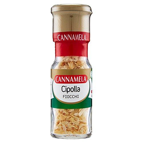 Cannamela - Cipolla Fiocchi, Cipolla Essiccata e Tagliata - 6 pezzi da 18 g [108 g]