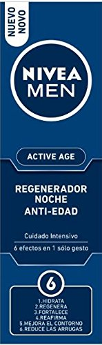 Nivea Men Active Age Crema Hidratante Noche Antiarrugas