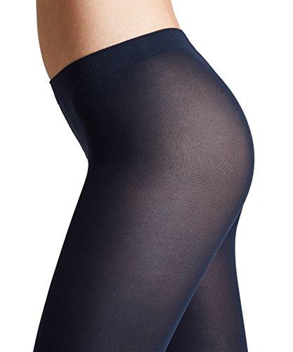 FALKE Damen Strumpfhosen Cotton Touch - Baumwollmischung, 1 Stück, Grau (Anthramix 3499), Größe: M
