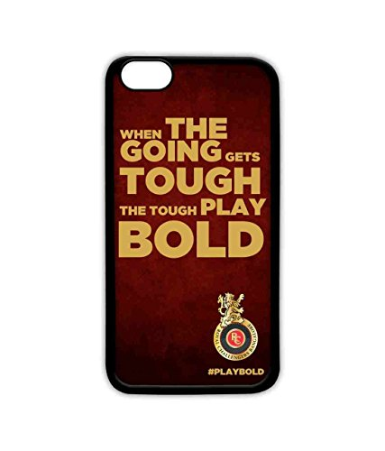 Macmerise Licensed Royal Challengers Bangalore RCB Lite Case for iPhone 6S