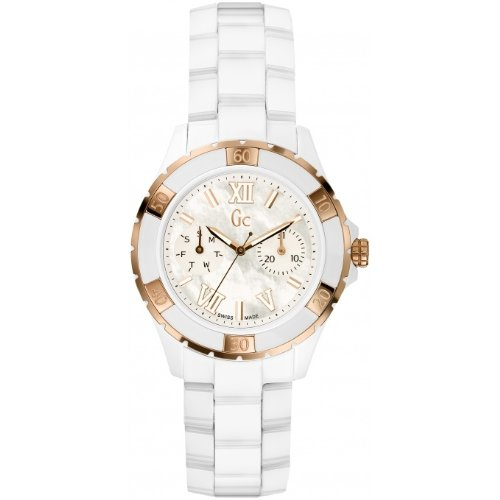 Guess Damen-Armbanduhr Analog Quarz Edelstahl X69003L1S