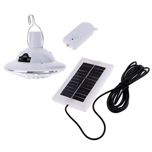 MagiDeal LED Solar Solarleuchten, Outdoor Wandleuchte, 22 LED Licht mit Haken für Garten outdoor Camping -
