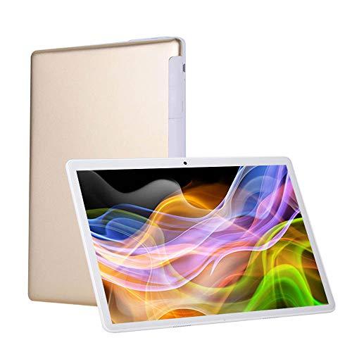 Tablet 10 Pollici con Wifi Offerte|Fire HD 10.1' 3G Android 7.0 4GB RAM,64GB ROM,Doppia SIM,Deca-Core,GPS,OTG,1080P,Gold