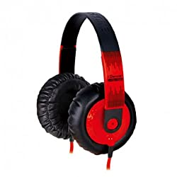 iDance SeDJ 700 DJ Over-Ear Headphone (Red)