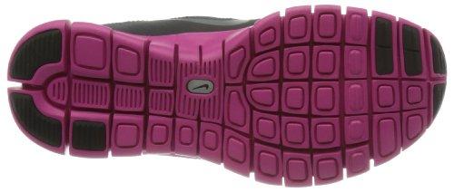 NIKE Free 5.0Shield (GS) dk Charcoal 616698001 Schwarz (Dk Charcoal/Met. Silver/Pink Foil/Black)