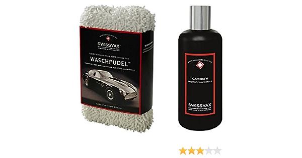 Swissvax SwizÖl Car Wash Kit Einsteiger Set Mit Waschpudel Car Bath Auto