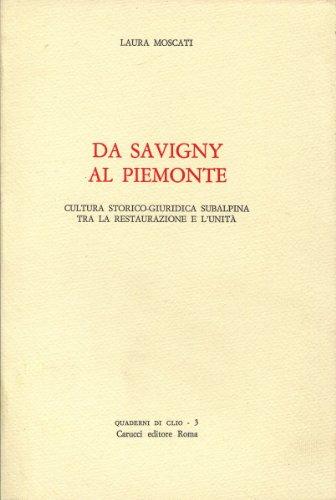 DA SAVIGNY AL PIEMONTE