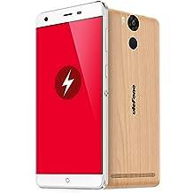 """Ulefone Power - Smartphone 4G FDD-LTE Android 5.1 64 bits MTK6753 Octa Core 5.5 """"Pantalla 3GB+16GB 5MP+13MP Cámara Dual OTG Hotknot Miracast Fingerprint Gestos de Despertador"""