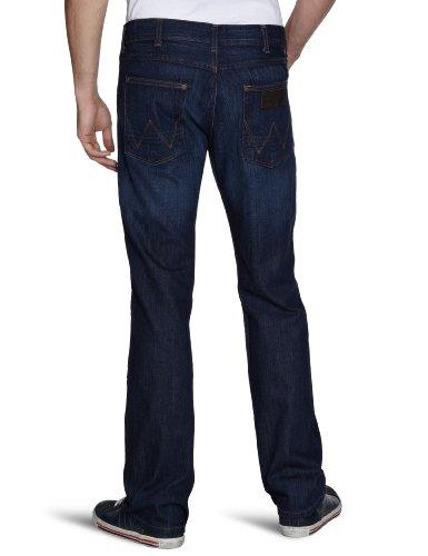 Wrangler Herren Jeans Ace ZipFly Holey Mole (Warm Indigo 33B)