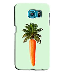 Blue Throat Carrot Tree Hard Plastic Printed Back Cover/Case For Samsung Galaxy S7