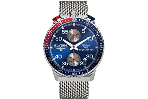 Elysee Mens Watch Graf Berghe von Trips Rally Timer I Chronograph 80521M