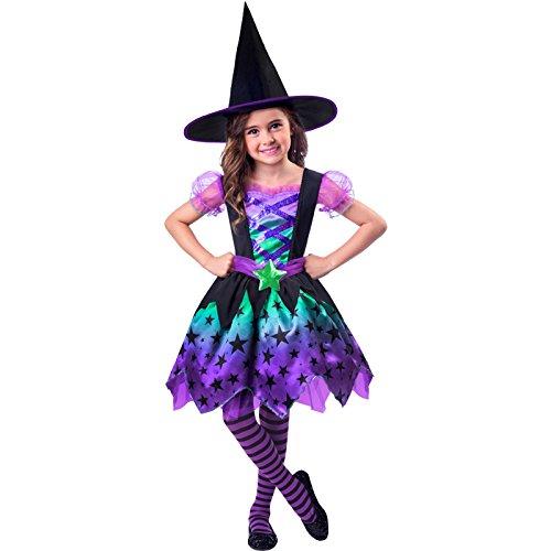 Bezaubernde Hexe Halloween Kostüm Kinder Mädchen Amscan