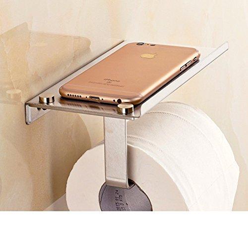 Antique Holz Telefon (MOMO Toilettenpapierhalter aus Edelstahl / Legen Sie das Telefon Antique Roll Papierhandtuchhalter / Bad Racks / WC-Fach-C)