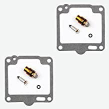 2x Kit Reparación Carburador Aguja del flotador Getor CAB-Y32