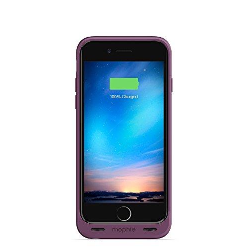Mophie 3368_JPR-IP6-PRP Juice Pack Reserve, kompakte Schutzhülle mit Batterie für Apple iPhone 6/6S lila (Mophie Case Iphone 6)