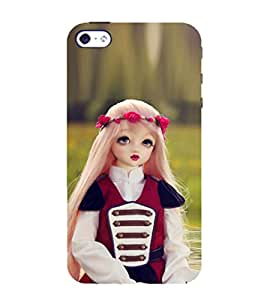 99Sublimation Baby Doll 3D Hard Polycarbonate Back Case Cover for Apple iPhone SE