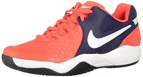 Nike Air Zoom Resistance, Scarpe da Ginnastica Basse Uomo, Multicolore (Bright Crimson/White/Blackened Blue 614), 43 EU