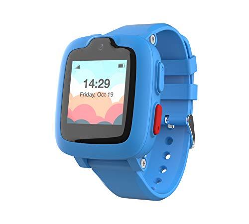 Reloj Inteligente 3G con Rastreador GPS, Pantalla táctil, Cámara, Alarma remota SOS de toque, monitorizador de fitness, smartwatch impermeable para niñas/niños IP67 a prueba de agua