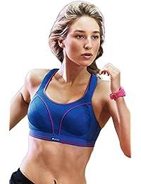 Shock Absorber Sport-BH, Run Größe 70F, Farbe Blau-Pink